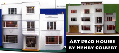 Cheap Doll Houses With Furniture Throughout Henry Colbert Modern Mini Houses