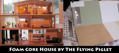 Foamcore house