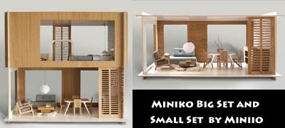 modern dolls house furniture. miniko doll house modern dolls furniture h