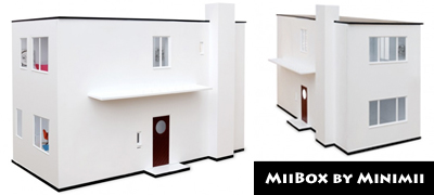 The Arne Jacobsen MiiBox Dollhouse