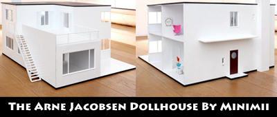 The Arne Jacobsen Minimii Dollhouse